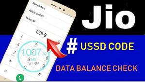 How To Check Jio 4G Internet Data Balance On Mobile