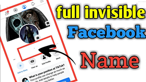 Read more about the article How To Make Invisible Facebook Profile Name Or Page Name