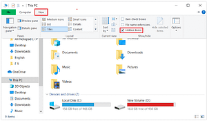 Read more about the article How To Show Hidden Files & Folders On Windows 10