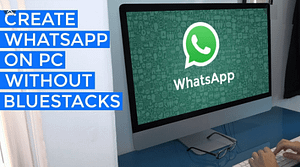 Read more about the article How To Run WhatsApp On PC Without Bluestack – Use Whatsapp on PC